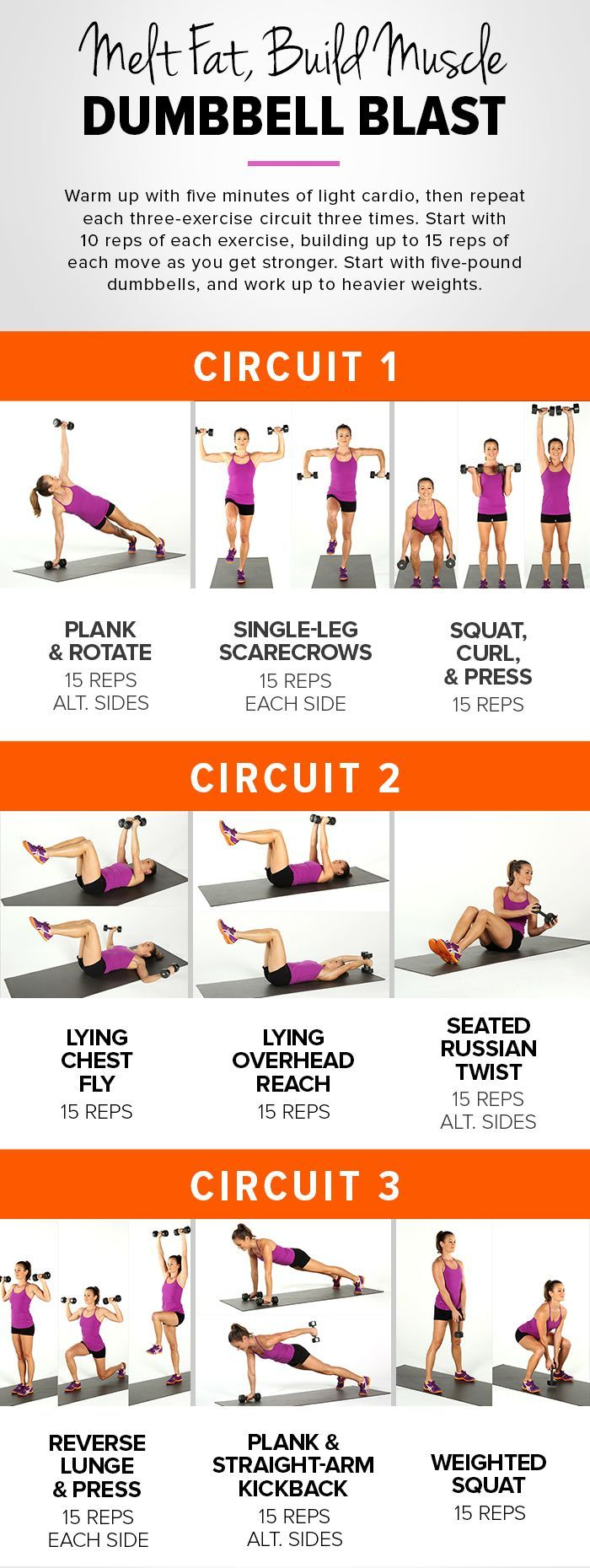 Incinerate Fat and Build Muscle With This Workout