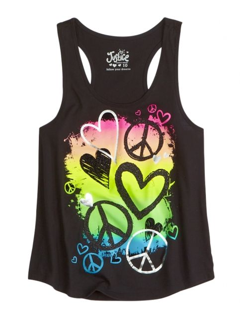 Graphic Tank | Girls Tanks Tops & Tanks | Shop Justice