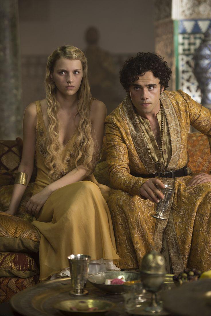 Myrcella Baratheon & Trystane Martell ~ Game of Thrones