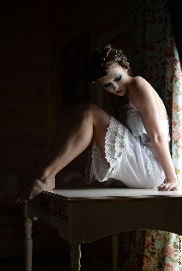 """Купить Нижнее белье в винтажном стиле """"Венера"""" - белый, одежда купить, стиль бохо, бохо"""