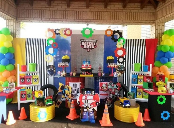 Inspiration Rescue Bots Party