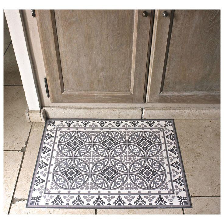 tapis de sol vinyle en carreaux de ciment beija flor mybohem with saint maclou paillasson. Black Bedroom Furniture Sets. Home Design Ideas