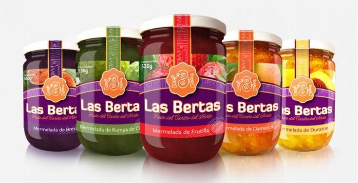 Mermeladas Las Bertas.