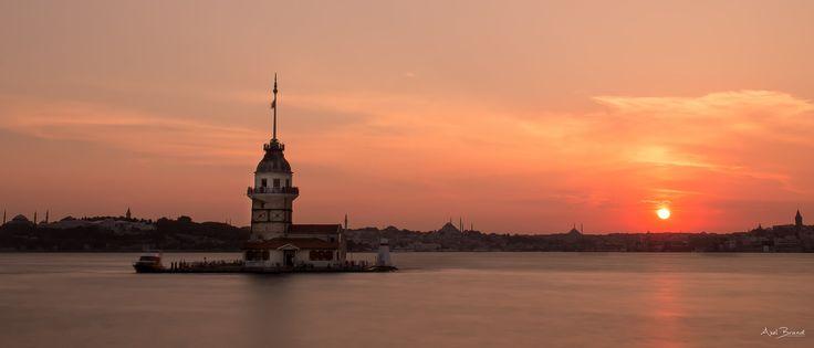 Sunset Maiden´s Tower -