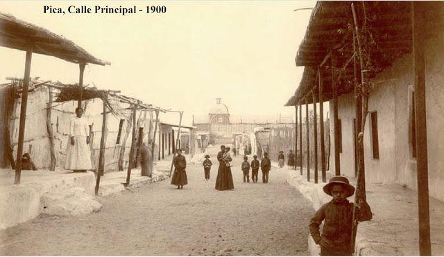 Imágenes de Chile del 1900: Pica, Matilla y Caleta Buena