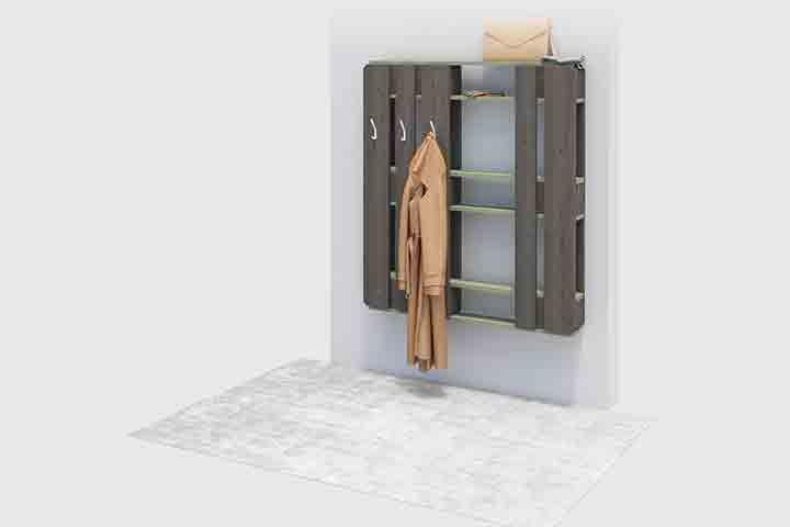 Garderobe Dienlich Create By Obi Mobel Aus Paletten Regal Selber Bauen Palettenmobel