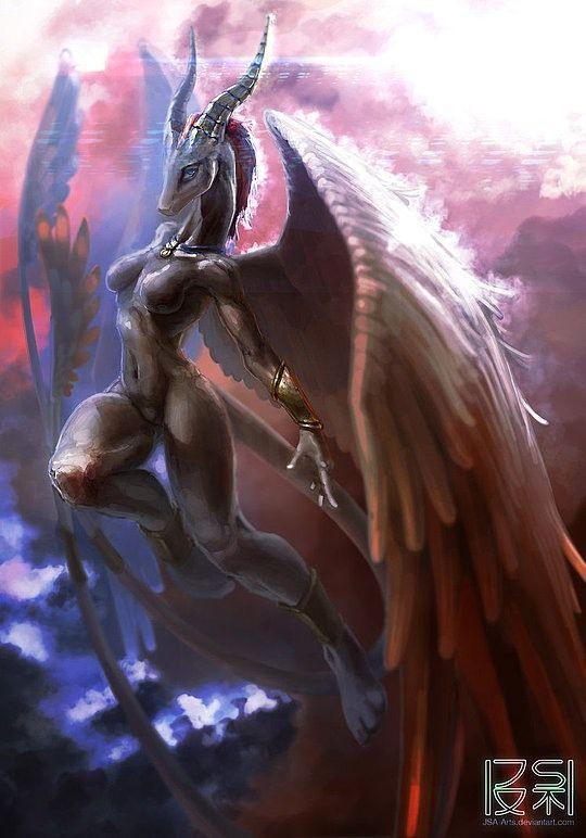 Inspiring Digital Artworks by JSA-Arts, Fantasy creatures