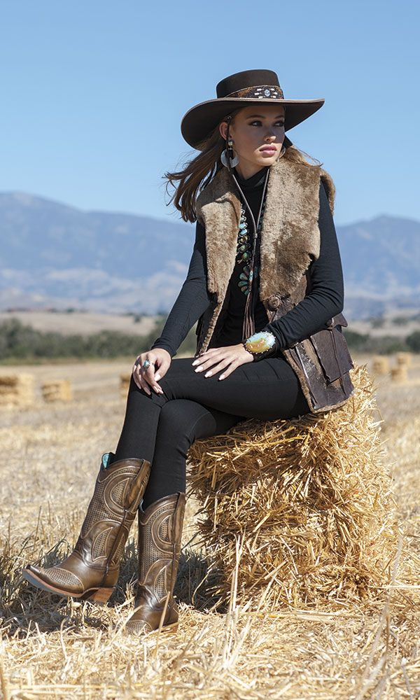261370b52e 80 Elegant Fall & Winter Outfit Ideas 2018/2019 | FASHION Trends ♥ | Cowboy  outfits, Country style outfits, Country western outfits
