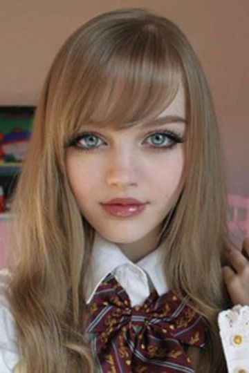 Real Life Doll Look A Like Anime Hairstyles In Real Life