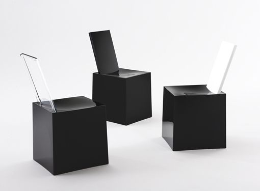 Miss Less The Modern Sculptural Plastic Chairs designed by Philippe Starck