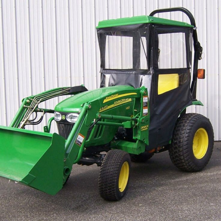 Click here to Purchase! Hard Top Cab Enclosure for John Deere 2320 & 2025R