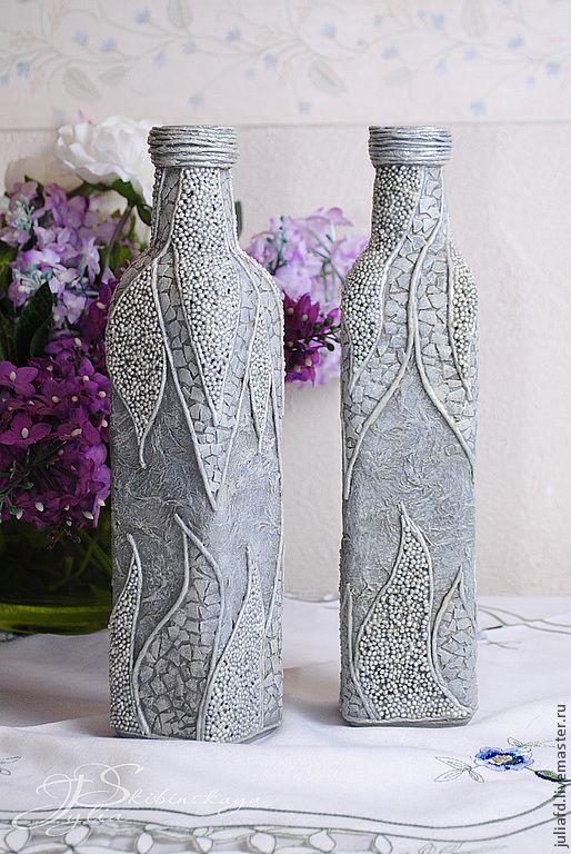 пейп арт на бутылках - Поиск в Google