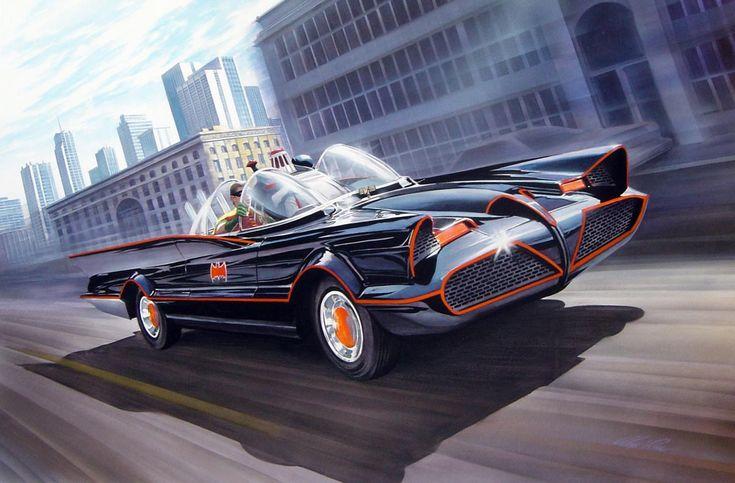 66 Batmobile by Alex Ross