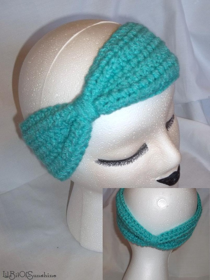 Free Crochet Pattern For Turban Headband : Turban Headband