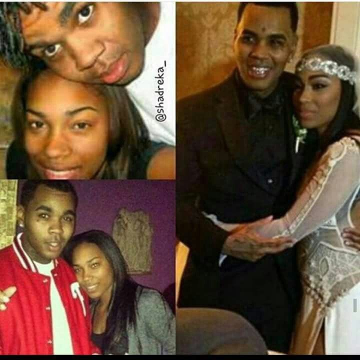 Rapper Kevin Gates (Gilyard) & wife Dreka Gilyard #cute couple #been together #before the fame <3