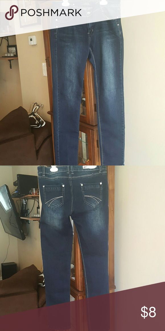 Womens jeans Womans dark wash jeans Jeans Skinny