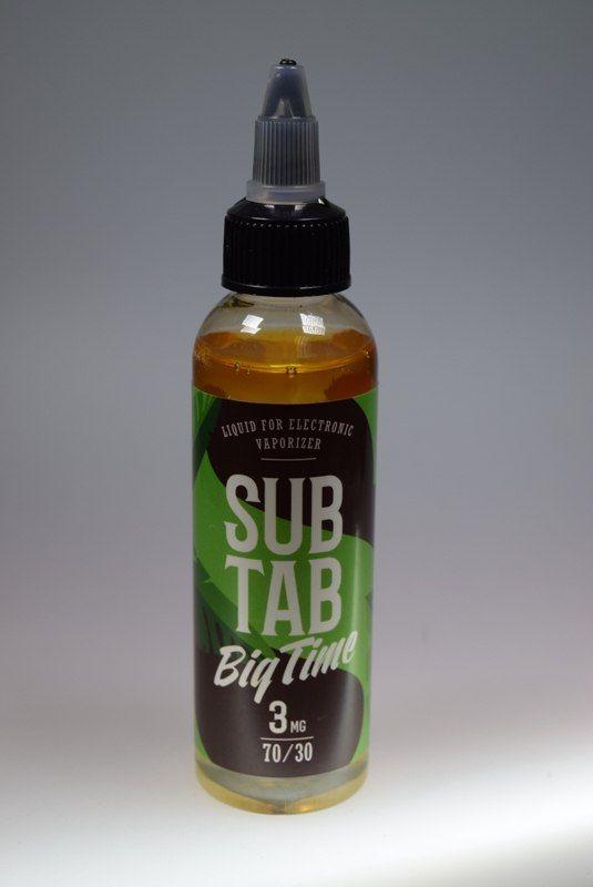 Жидкость Big time - Табачный микс