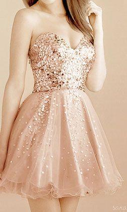Hermoso vestido de fiesta.