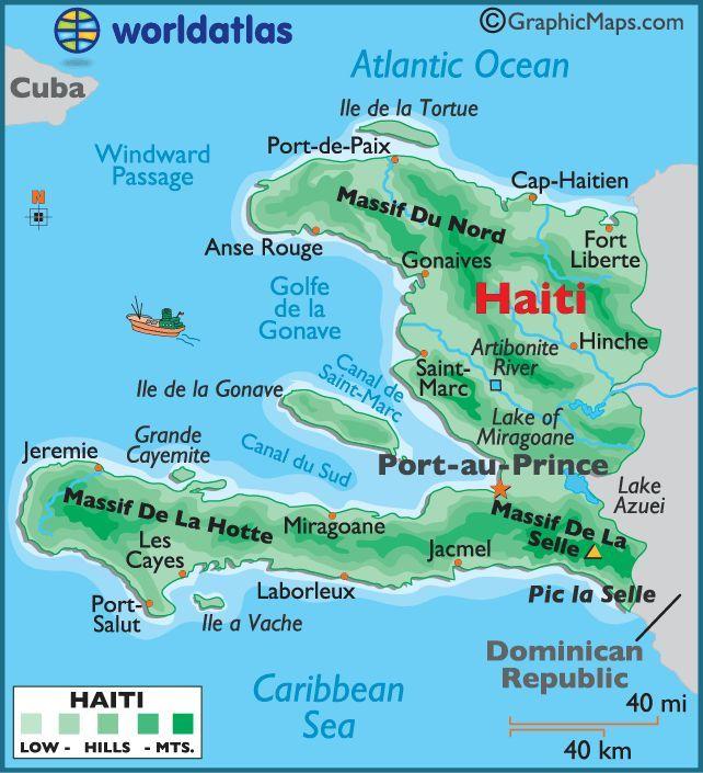 Mapa De Haiti Haiti Mission Trip
