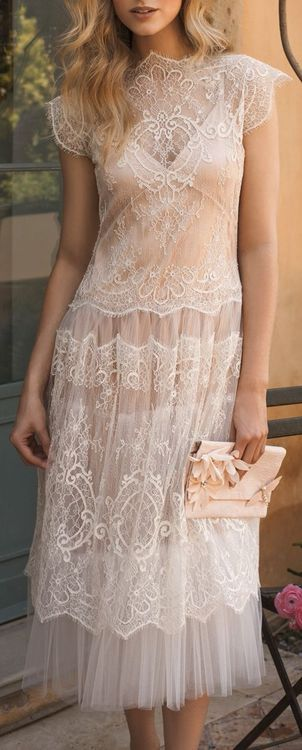Such a gorgeous dress....maybe to rehearsal and dinner?