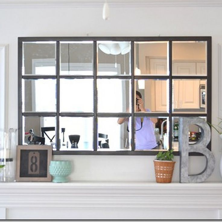 House Stuff Works: How To: The Pottery Barn Knock-Off Mirror