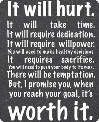 The Truth: Fit Quotes, Remember This, Inspiration, Half Marathons, So True, Worthit, Worth It, Weightloss, Weights Loss