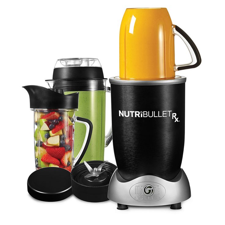 NutriBullet Rx If you are looking for the best-in-class Nutrition Extractor, the NutriBullet Rx is the machine for you. Featuring a 1700-watt motor, hands-free SMART Technology and a heating cycle for making hot soups and sauces, the NutriBullet Rx extracts nutrients to a level so potent, we call it nature's prescription.