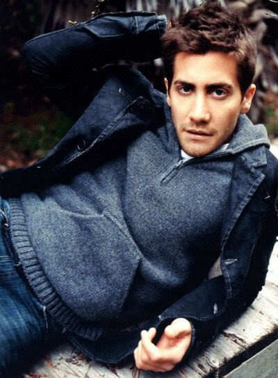 Jake Gyllenhaal - My sister and I actually agree on him!