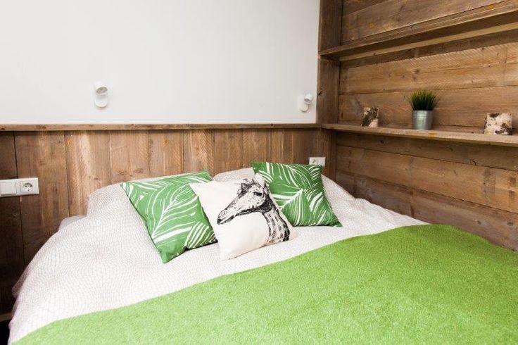 Slaapkamer jungle lodge #stoerbuiten