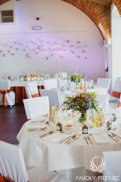 7. Electrical Wedding, Rustic, Centerpieces/ Elektryczne wesele, Anioły Przyjęć