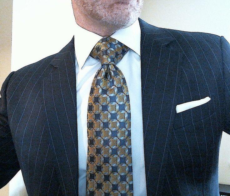 Big Windsor Knot Men S Suits Shirts And Ties Suit