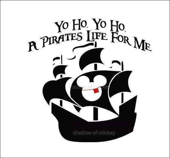 MINNIE BOAT pirate Party Mickey PIY Disney Cruise Iron Transfer Pillowcase Shirt Bride Totebag Honeymoon Wedding instant downloa