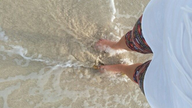 Toes in the water