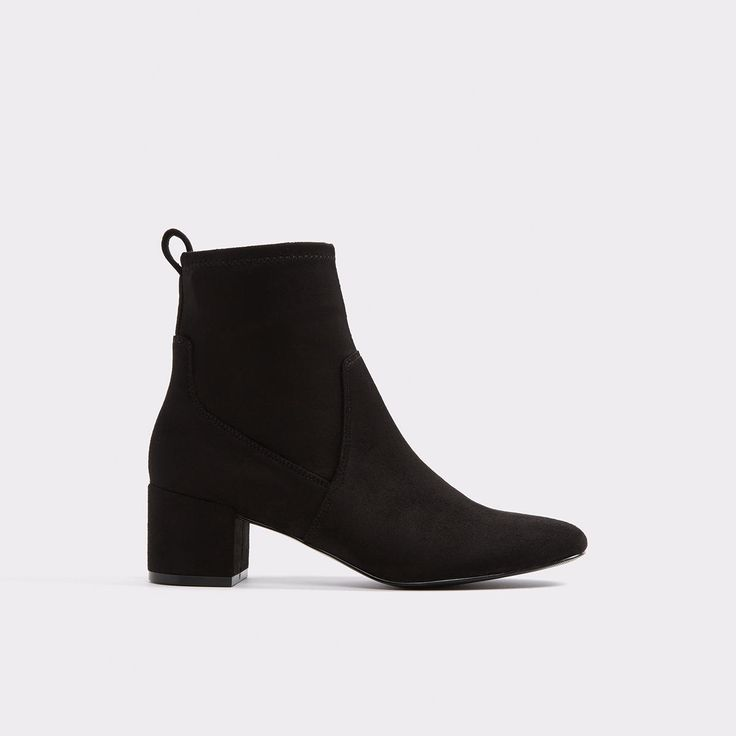 Stefi-N <p>The feminine version of a men's beatle boot features faux suede and block heel for a modern take on an iconic style. Borrowed from the boys? Nah, its a total keeper for every girl.</p>