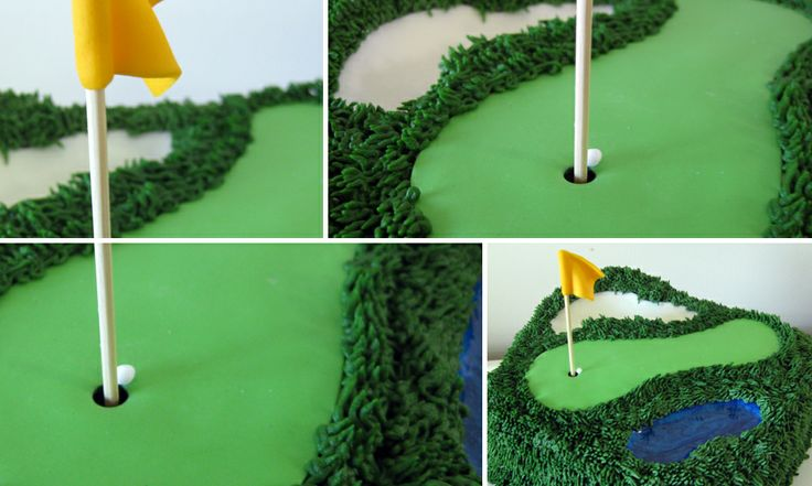 Golf Course Cake Design : Golf Course Cakes Designs decorating cakes cupcakes etc ...