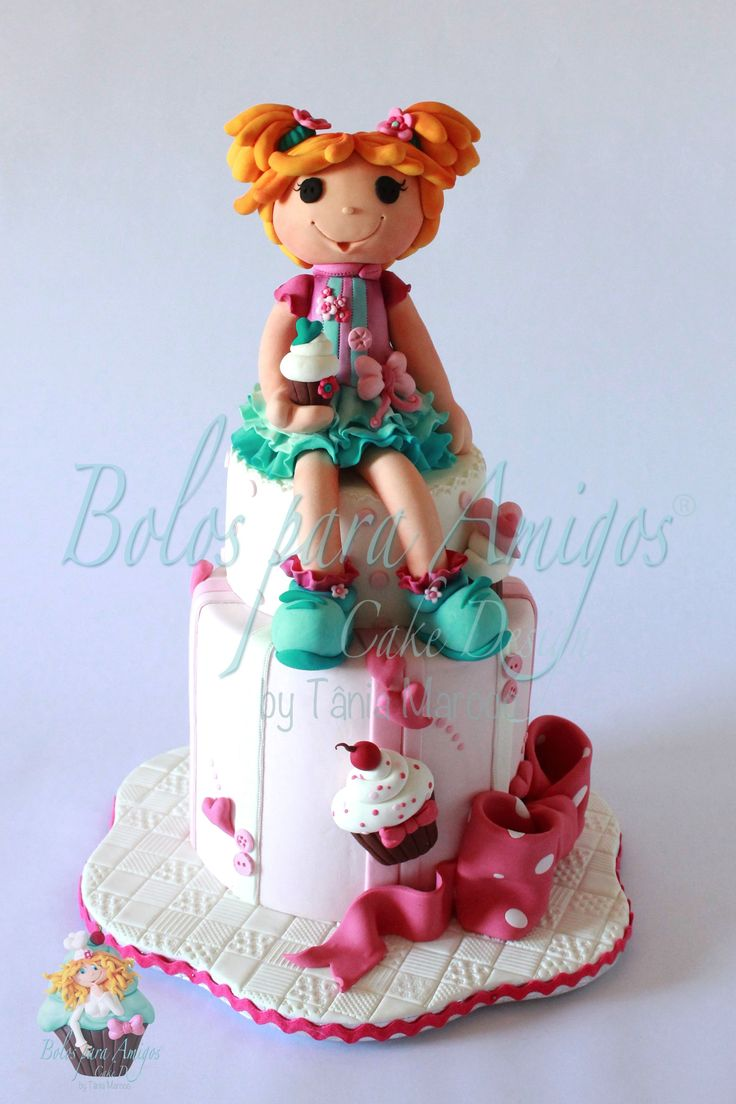 Cake Decoration Doll : 1962 best Cake and Other Sweet Inspirations images on Pinterest Biscuits, Decorated cakes and ...