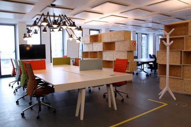 Cool office space designs crazecentral spaces i like for Bbdo office design 9