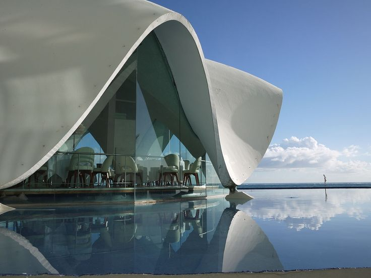 The La Concha (The Shell) restaurant at the La Perla hotel, San Juan, designed in 1958 by Mario Salvador, was destined for destruction until the hotel complex was bought and renovated by Marriott