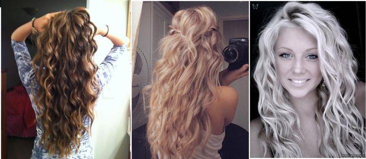 No Heat Hair Styles: 159 Best No Heat Waves/Curls Images On Pinterest