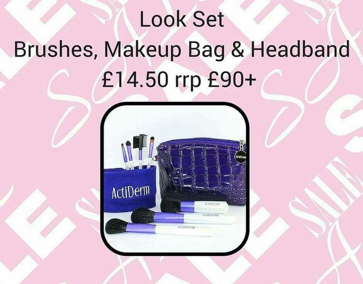 Check out this amazing brush set and make up bag, everything you need to apply your make up perfectly. Www.beautyfromjoanne.co.uk