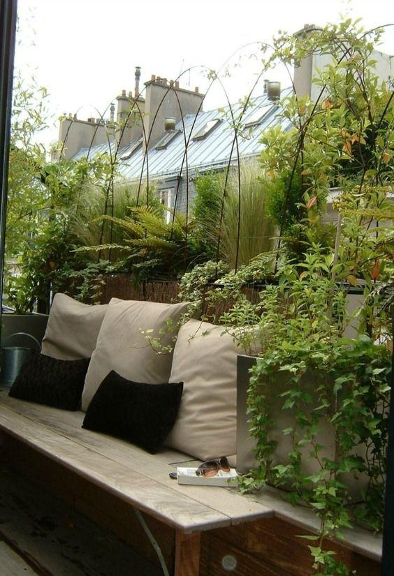 Les 10 meilleures id es de la cat gorie balcon parisien for Isoler son jardin des regards