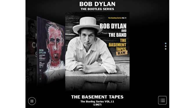 iPad App - The Basement Tapes Complete: The Bootleg Series Vol. 11(Deluxe Edition) update includes Lo And Behold teaser