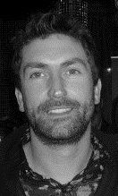 Leslie Benzies closeup balck and white