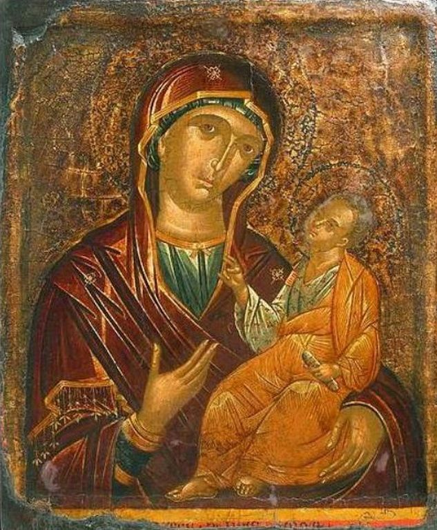 Ρίτζος Ανδρέας-Virgin and Child, late 15th century