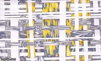 color my brain yellow, collage art by gurgel-segrillo