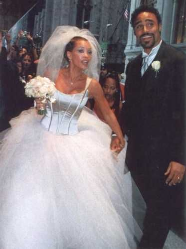 Vanessa Williams & Rick Fox wedding, September 1999.
