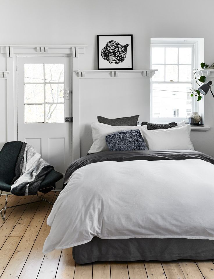 Love this quilt cover colour and texture, however still not sure it will match our fabric bed (probably won't)