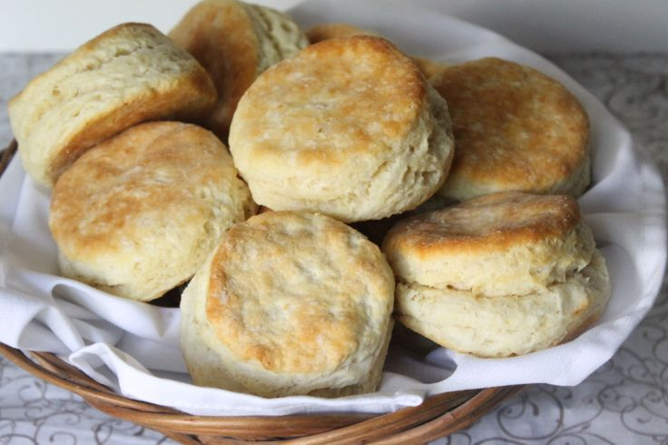Homemade Freezer Biscuits | Ten at the Table | http://tenatthetable.com