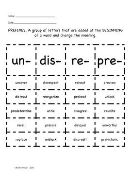 "study prefix and best thing ""i thought this was supposed to be the best prefix list""  studying prefixes is  powerful because if you know the meaning of one prefix, you can."