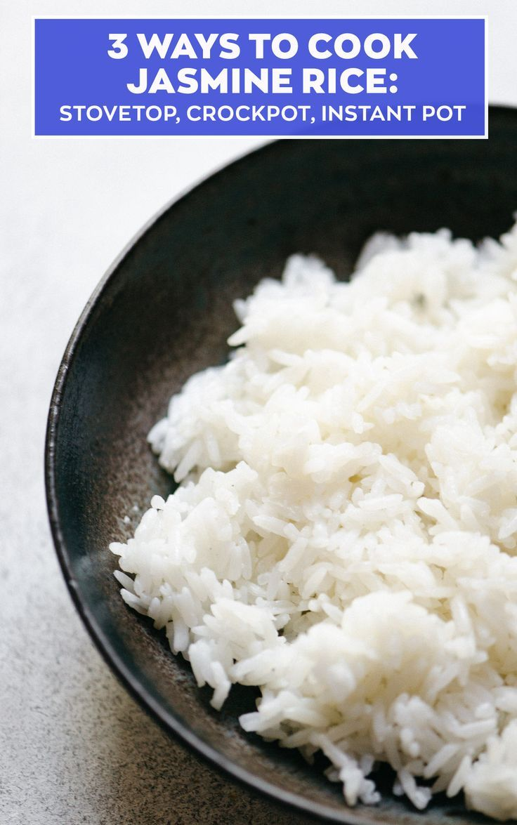 jasmine rice recipe for dieting
